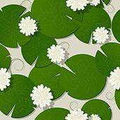 Water lilies design