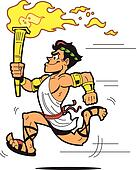 Running Torch Bearer