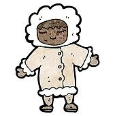 cartoon Eskimo