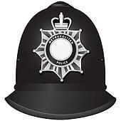 British Police Officer's Helmet