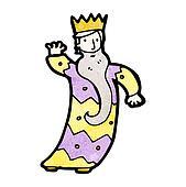 one of the three kings cartoon