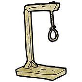 cartoon hanging noose