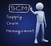 3d man writing scm