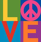 LOVE Peace_Color Block