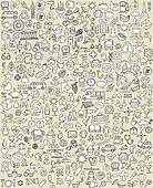 XXL Doodle Icons Set No.1