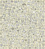 XXL Doodle Icons Set No.4