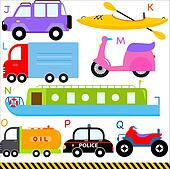 A-Z Car, Vehicles, Transportation