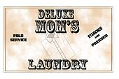 moms deluxe laundry service
