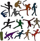 Martial Arts Doodles