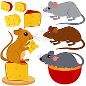 Rat Mouse and Cheese