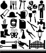 Shovels, Spades, and Garden tools