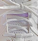 shoelace close up