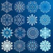 Beauty Snowflakes.