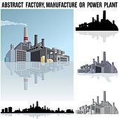 Industrial Factory, Manufacture or Power Plant.