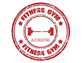 Fitness gym-stamp