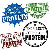excellent source of protein stamps