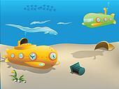 submarine underwater