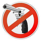 gun control sign