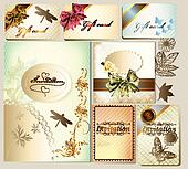 Luxury invitation and gift cards wi
