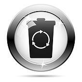 Black and white icon