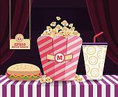 Snack Movie - Popcorn Sparkling wat