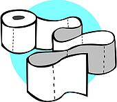 Clip Art Toilet Paper Clipart toilet paper clip art royalty free gograph smiling rolls