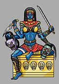 Kali Indian Goddess