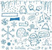 Winter Doodles