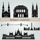 Budapest landmarks and monuments