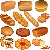 Bread Clip Art - Royalty Free - GoGraph