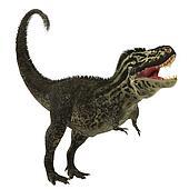 T-Rex on White