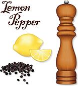 Lemon Pepper, Wood Spice Mill