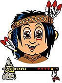 happy little indian boy