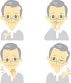 Disease Symptoms 02, old man