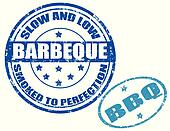Barbeque-stamp