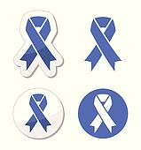 Periwinkle ribbons  eating disorder
