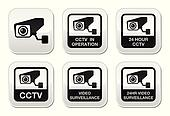 CCTV camera, Video surveillance