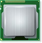 Modern computer core processing unit (CPU)