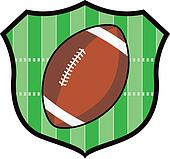 Gridiron Football Shield