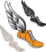 Track Foot Clip Art - Royalty Free - GoGraph