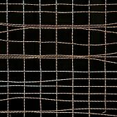 Rusty old fences of wire