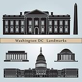 Washington DC landmarks and monuments
