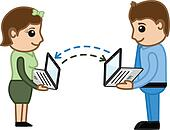 Data Transfer Between Laptops