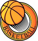basketball club emblem, design, sym