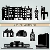 Geneva landmarks and monuments
