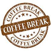 coffee break stamp