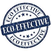 Eco Effective Blue stamp