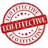 Eco Effective Red stamp