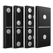 3d domino pieces