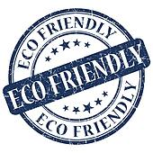 ECO FRIENDLY Blue stamp